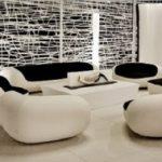 White-black-interior-of-living-room-designs