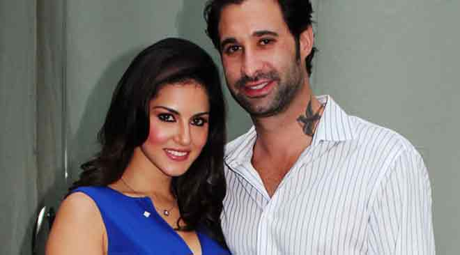 Sunny Leone Pictures with her Husband