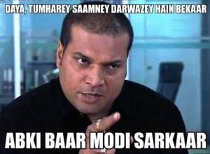 Daya-tumhare-samne-darwaze-haie-bekar-abki-baar-modi-sarkar-meme