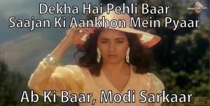 Madhuri-dixit-says-abki-baar-modi-sarkar-memes-images
