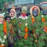 Kummattikali Photos of Onam Festival