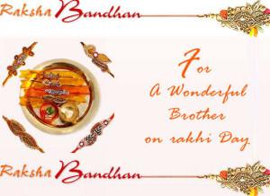 Raksha Bandhan Message For Brother.