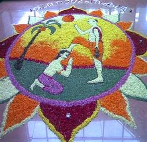 best pookalam designs with theme