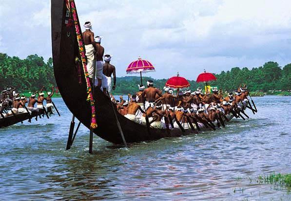 boat race event onam festival image