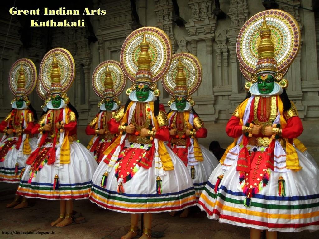 kathakali indian art onam picture