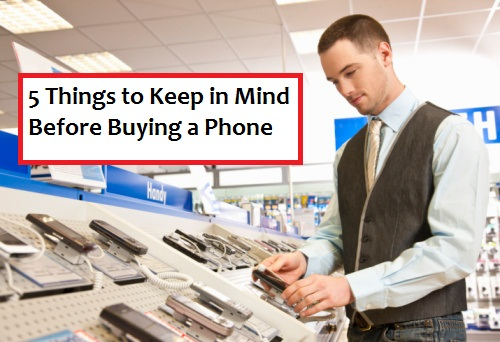 things to consider buying iphone