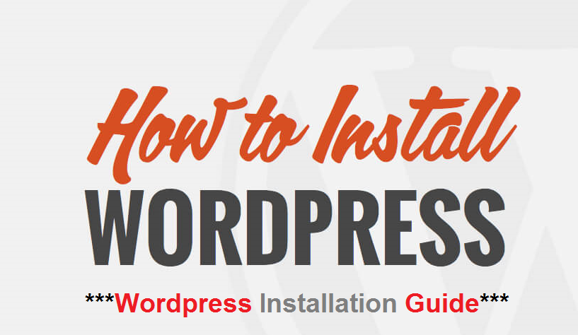 How To Install Wordpress on a Domain