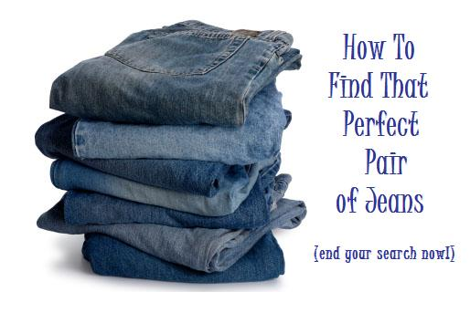 How to Find Jeans for Me