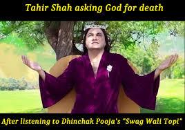 Dhinchak Pooja meme jokes images