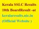 Kerala SSLC Result 2018 keralaresults.nic.in