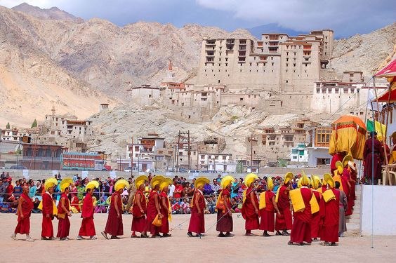 Ladakh - beautiful summer holiday desitination in india