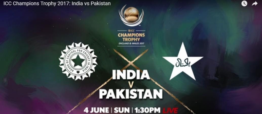 Champions Trophy India vs Pakistan