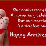 Anniversary status for Husband