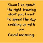 Fresh Good Morning Quotes for Girlfriend