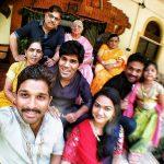 allu arjun family photos download