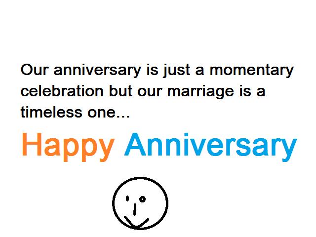 My Wedding Anniversary Status