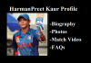 harmanpreet kaur profile photos