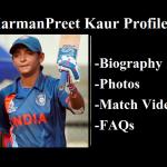 harmanpreet kaur profile photos