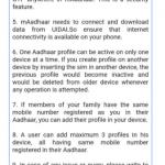 maadhaar app usage guidelines