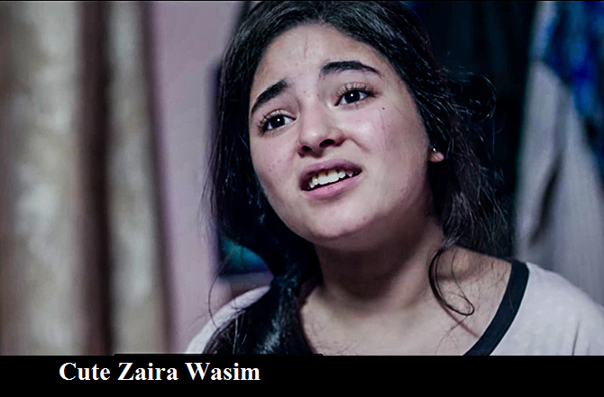 Secret Superstar Actress Zaira Wasim Photos