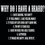 Beard Status for whatsapp