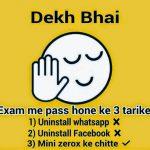 Best Exam Status for whatsapp