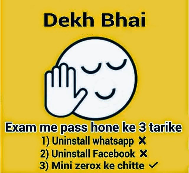 Best Exam Status for whatsapp