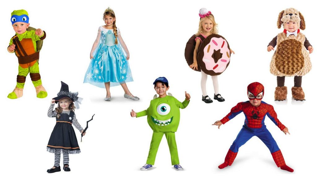 2017 Halloween Costumes for Toddlers