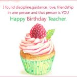 belated birthday wishes for teacher
