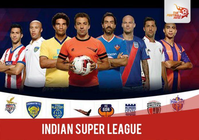 name of teams in hero isl 2017