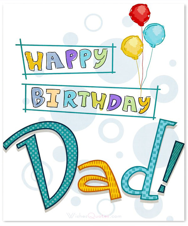 100 Birthday Messages For Dad Happy Birthday Daddy Web End