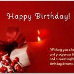 Romantic Birthday Wishes for Boyfriend