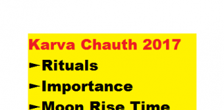 karva chauth 2017 Importance Rituals Rise Time