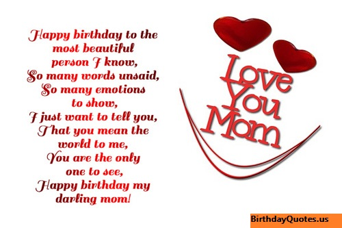 Respectful Birthday Wishes and Quotes for Mother