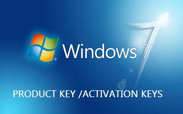 Window 7 Product Keys Serial Key