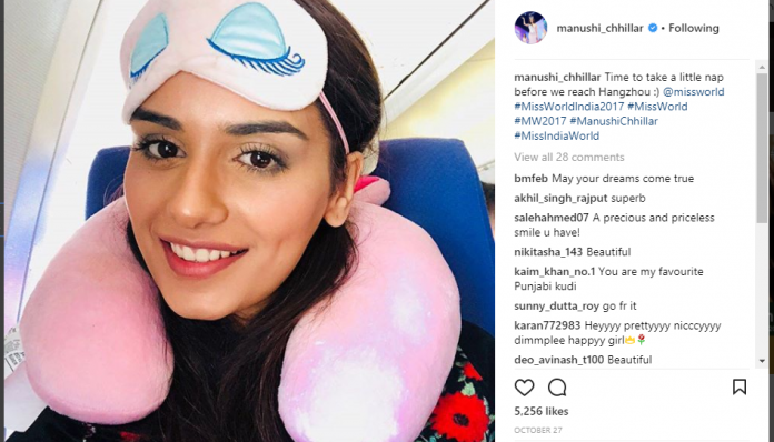 manushi chhillar instagram photos