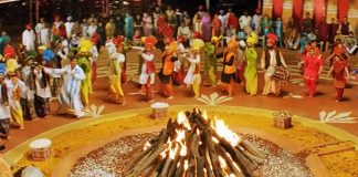 A paragraph on Lohri celebrations