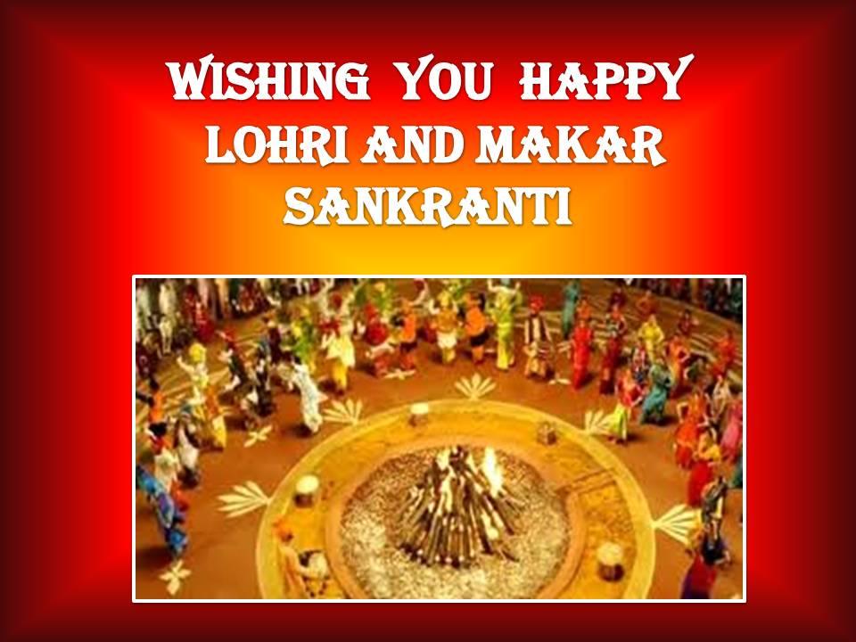 Lohri and Makar Sankranti Sms