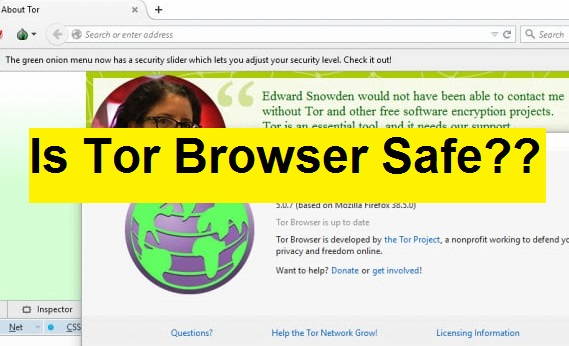 Is tor browser safe