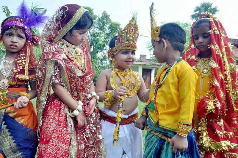 images of janmashtami celebration 2018