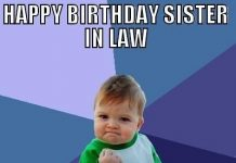 funny birthday quotes for sister in law
