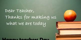 happy teacher day status for whatsapp