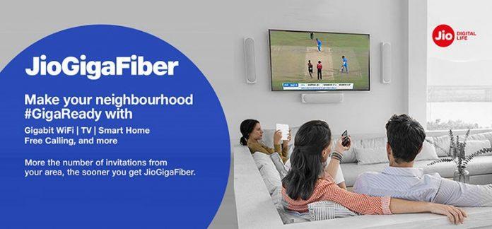 jio giga fiber registration