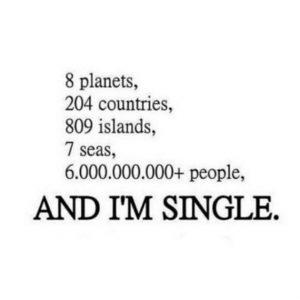i am single funny status for whatsapp
