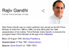 Rajiv Gandhi Changed India
