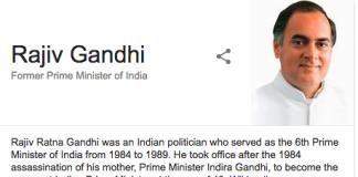 Rajiv Gandhi Changed India
