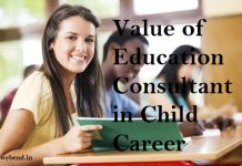 Value of Education Consultant in Child Career