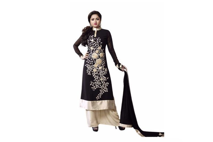 A Palazzo suit for navratri festival