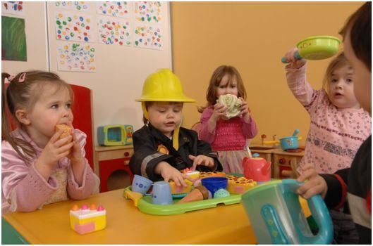 Kid in Preschool