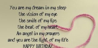 Happy Birthday my love quotes